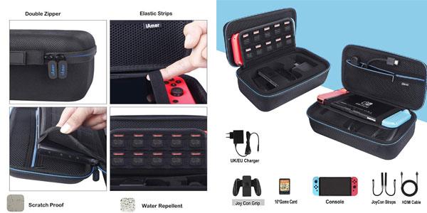 Kit de accesorios 6 en 1 Aimer para Nintendo Switch chollazo en Amazon