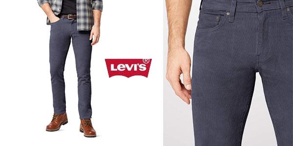 Levi's 511 Slim Fit para hombre en color azul pana baratos en Amazon