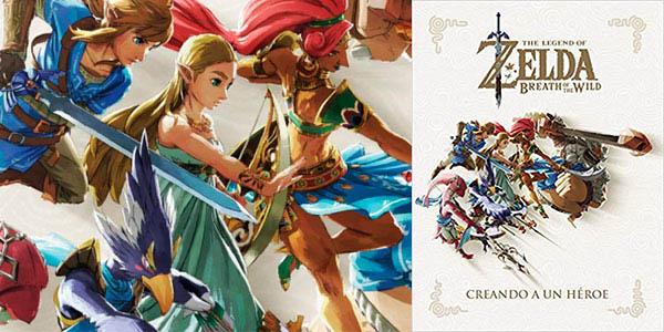 Libro de arte Creando un héroes de The Legend Of Zelda: Breath Of The Wild