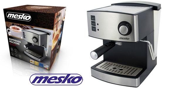 Máquina de café Mesko MS4403 de 850 W barata en Amazon