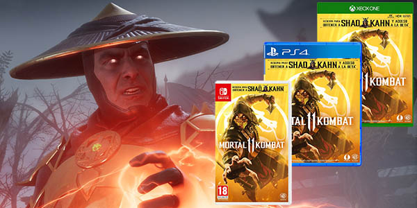 Mortal Kombat 11 para PS4, Xbox One o PC Steam