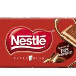 Pack de 25 tabletas de Nestlé Extrafino Corazón de 3 Chocolates x120gr/ud barato en Amazon