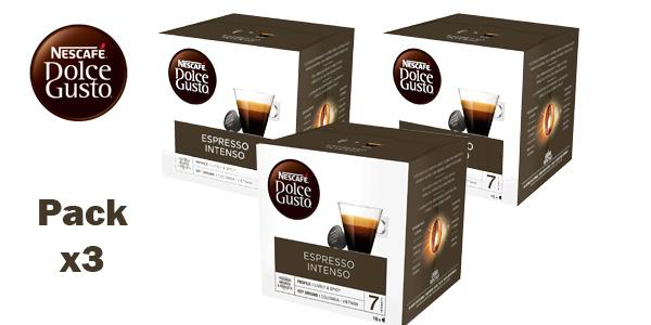 Pack de 48 cápsulas Café Espresso Intenso Nescafé Dolce Gusto chollo en Amazon