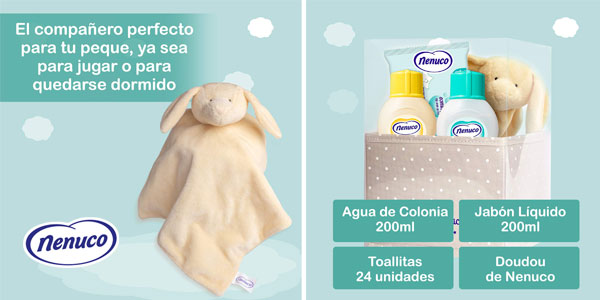 Canastilla Bebe Amazon.Chollo Nenuco Canastilla Regalo Bebe Recien Nacido Por Solo