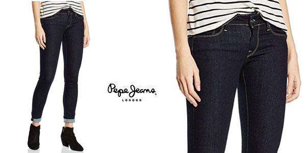 diversificado en envases calidad superior venta minorista Chollo Vaqueros Pepe Jeans Soho para mujer por sólo 31,47 ...