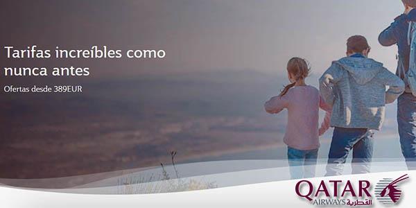 Qatar Airways rebajas de enero 2020