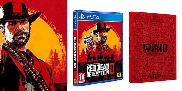 Red Dead Redemption 2 + Steelbook barato en Amazon
