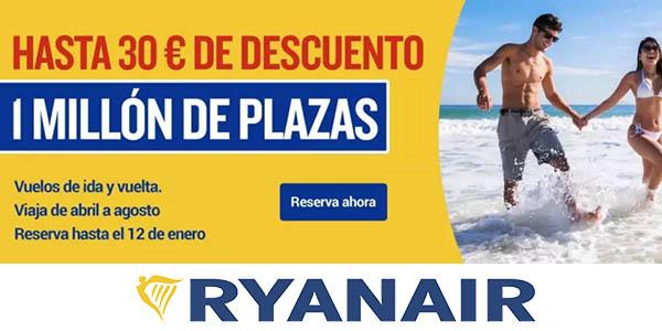 Ryanair rebajas enero 2020