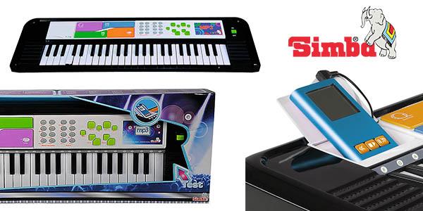 Simba teclado electrónico infantil MP3 barato