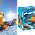 Submarino con motor de Playmobil barato