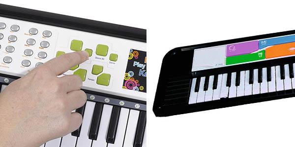 teclado eléctrico Simba Mi música del mundo chollo