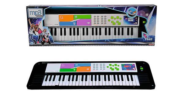 teclado electrónico MP3 Simba oferta