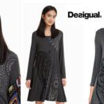 Vestido de punto Desigual Pikori para mujer barato en Amazon
