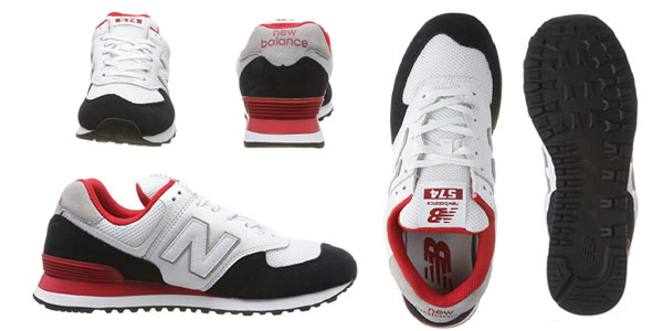 Zapatillas New Balance 574V2 para hombre en oferta en Amazon