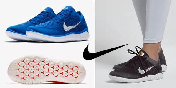 Chollazo Zapatillas Nike Free RN Flyknit 2018 por sólo 72,78