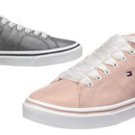 Zapatillas Tommy Hilfiger Metallic Light Weight Lace Up para mujer baratas en Amazon