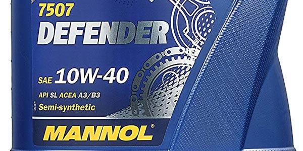 Aceite lubricante semisintético MANNOL 7507 Defender de 5L chollo en Amazon