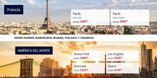 Air France ofertas Oh La La febrero 2019