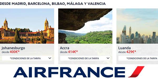 Air France vuelos en oferta verano 2019