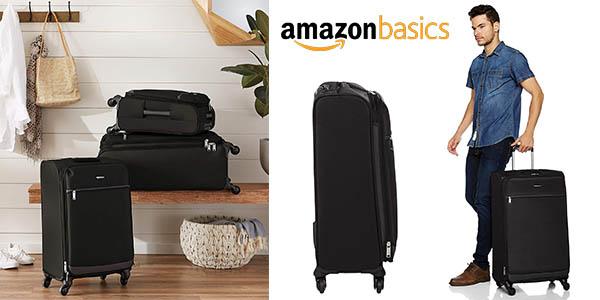AmazonBasics maleta blanda barata