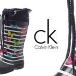 Botas de lluvia infantiles Beck Fantasy de Calvin Klein baratas en Amazon