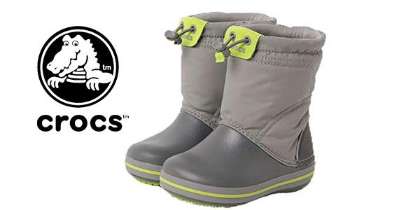 último estilo talla 7 envío gratis Chollazo Botas de nieve Crocs Crocband LodgePoint Boot para ...