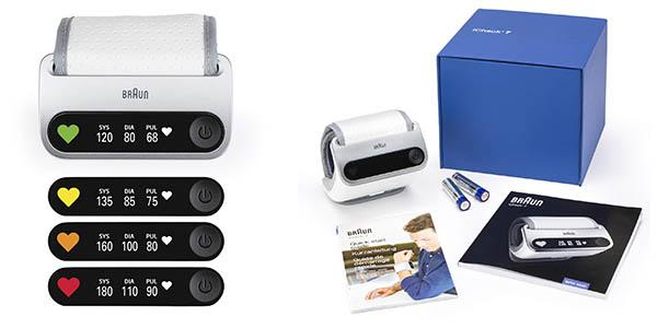 Braun iCheck 7 monitor tensión digital con aplicación móvil chollo