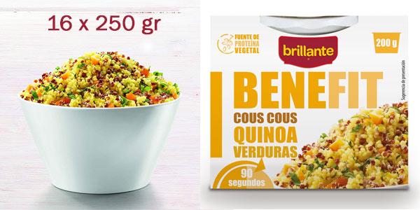 BRillante Benefit Cous Cous Quinoa Verduras al mejor precio en Amazon