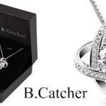 Collar B.Catcher Doble estrella en Plata de Ley 925 para mujer barato en Amazon