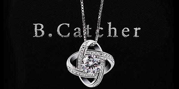 Collar B.Catcher Doble estrella en Plata de Ley 925 para mujer chollazo en Amazon