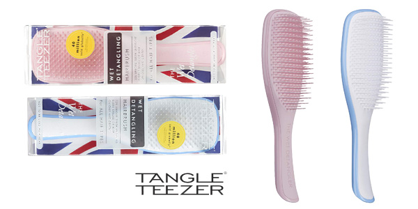 Cepillo del pelo Tangle Teezer Wet detangler barato en Amazon