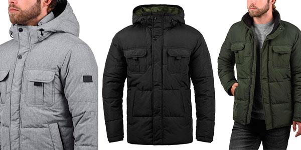 Chaqueta de invierno Jack & Jones Jaap con capucha para hombre barata