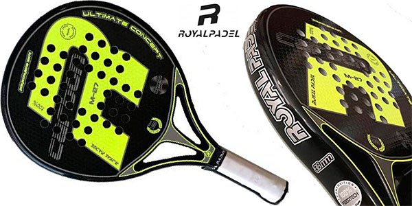 Chollo Pala de pádel Royal Padel M27 Carbon 2019