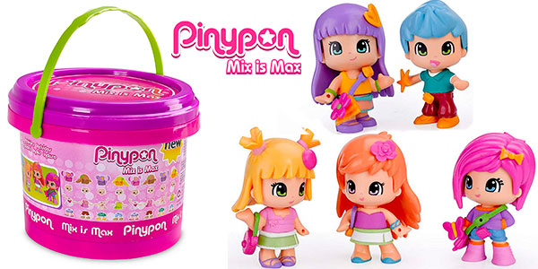Chollo Cubo Pinypon Mix is Max con 5 minifiguras