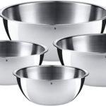Chollo Set 4 fuentes de cocina WMF Gourmet de acero inoxidable