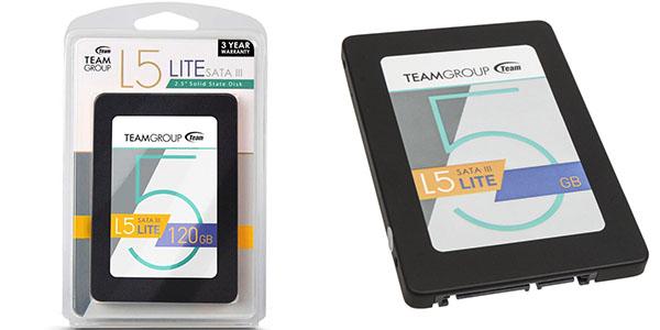 Disco SSD Team Group L5 Lite de 120 GB