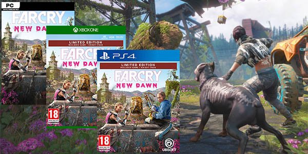 Far Cry New Dawn para PS4, XBox One o PC Uplay
