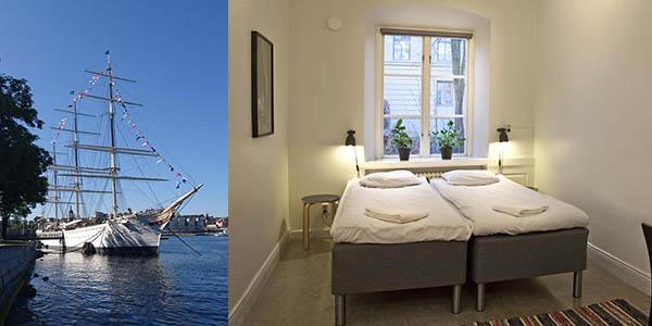 hotel barco Estocolmo relación calidad-precio estupenda