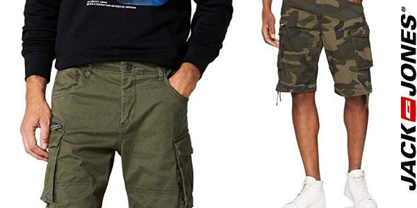 Pantalones cargo Jack & Jones cortos baratos en Amazon
