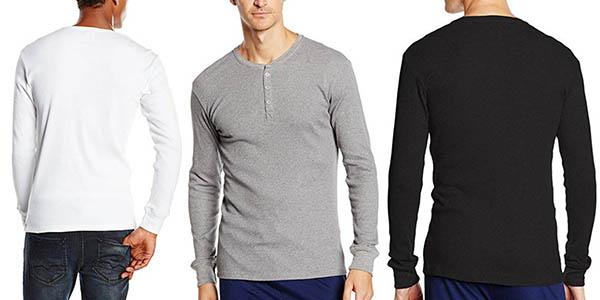 Levi's 300ls Long Sleeve Henley 1p camiseta chollo
