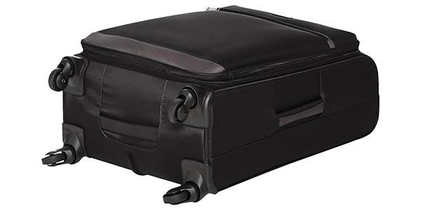 maleta AmazonBasics tejido blando relación calidad-precio estupenda