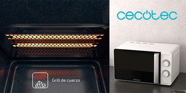 Microondas Cecotec Proclean 3110 de 700 W con grill y 20 litros barato