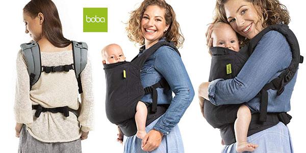 Mochila portabebés Boba Baby Carrier 4G Slate gris barata en Amaozn