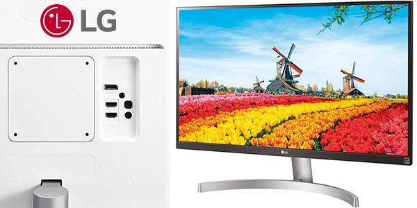 """Monitor LG 27UK600-W de 27"""" UHD 4K HDR en oferta"""