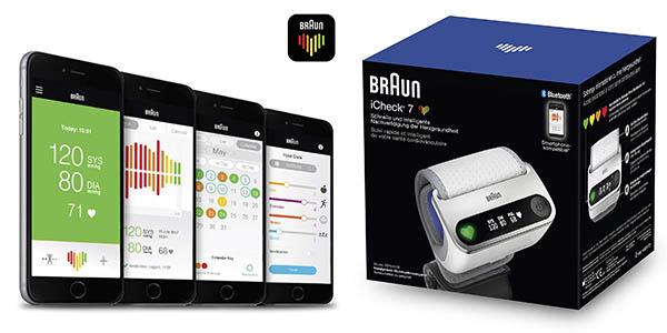 monitor tensión Braun iCheck 7 oferta