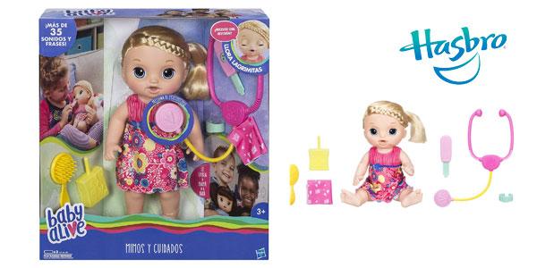 43ff18f89c Muñeca Baby Alive Mimos y Cuidados (Hasbro C0957105) barata en Amazon