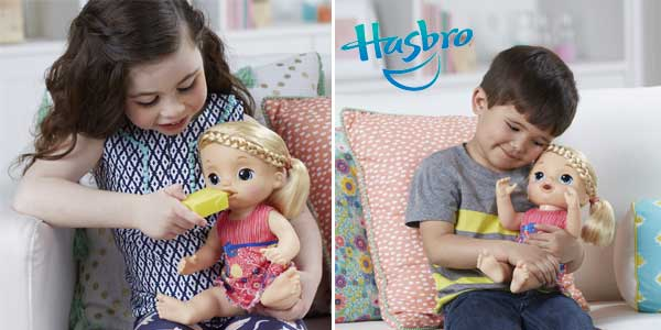 09ee9d3580 Muñeca Baby Alive Mimos y Cuidados (Hasbro C0957105) chollo en Amazon