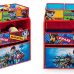 Mueble para juguetes Delta Children Patrulla Canina barato en Amazon