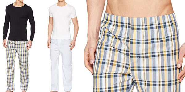 Pack de 2 pijamas Maglev Essentials para hombre barato en Amazon