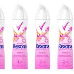 Pack de 6 desodorantes Rexona Tropical baratos en Amazon